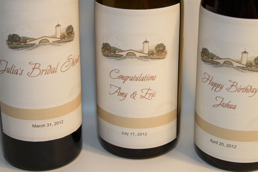 Custom Personalized Wine Labels For Weddings Birthdays Anniversarieore